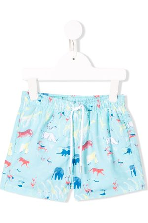 KNOT Jungle swim shorts