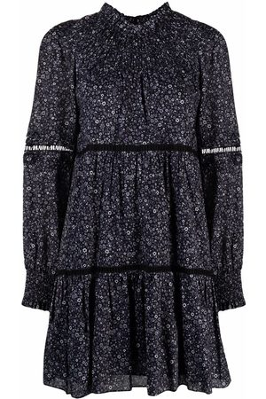 Michael Kors Damen Freizeitkleider - Floral flared mini dress