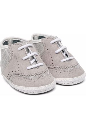 MONNALISA Schnürschuhe - Embossed lace-up sneakers