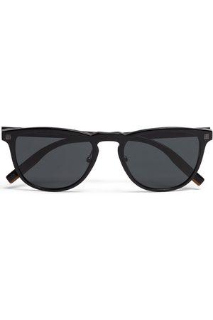Ermenegildo Zegna Leggerissimo rectangular-frame sunglasses