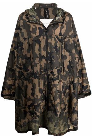 MACKINTOSH Herren Regenjacken - MIST camouflage ripstop cape