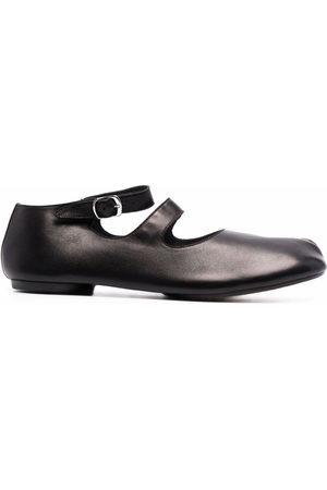 Maison Margiela Tabi ankle-strap ballerina shoes