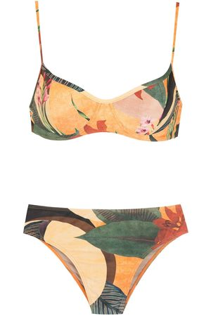 Lygia & Nanny Lilica floral-print bikini