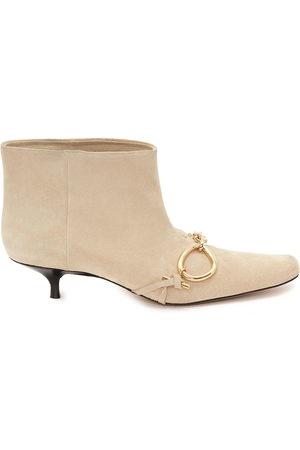 J.W.Anderson Damen Stiefeletten - Chain-embellished booties