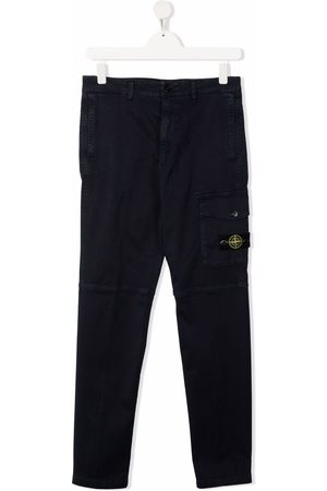 Stone Island Cargohosen - TEEN panelled cargo trousers