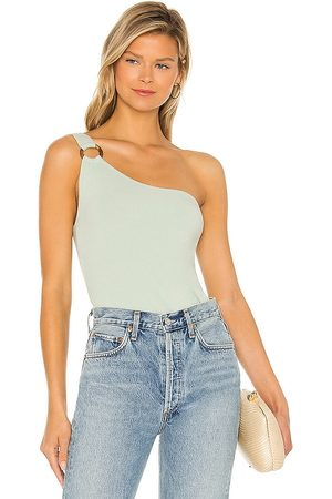 Steve Madden Just Ring It Top in - Sage. Size L (also in S, XS, M).