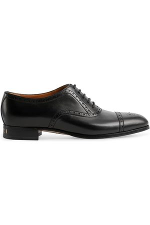 Gucci Brogue-detailed Derby shoes