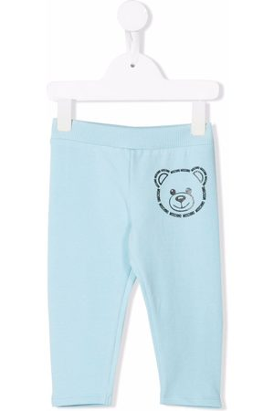 Moschino Teddy bear-print tracksuit bottoms