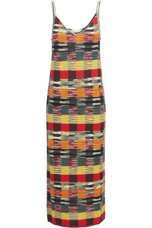 Palm Angels Capsule Missoni Wool Blend Long Dress