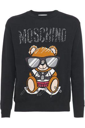 """Moschino Sweatshirt Aus Baumwolle """"teddy"""""""