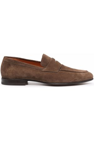 santoni Herren Halbschuhe - Leather Penny loafers