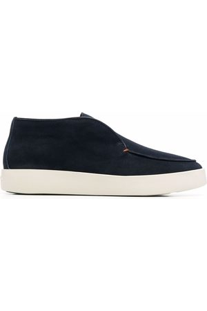 santoni Herren Halbschuhe - Ballroom leather loafers