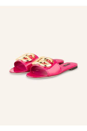 Dolce & Gabbana Pantoletten pink