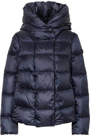 Peutery Damen Winterjacken - Lightweight-Daunenjacke Tucano blau