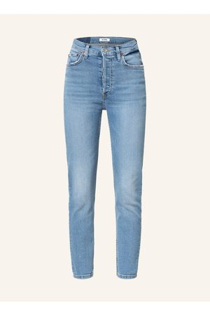 RE/DONE Damen High Waisted - 7/8-Jeans 90s High Rise Ankle Crop
