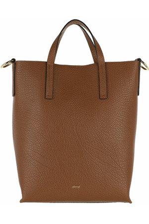 Abro+ Tote Bags Shopper JULIE - in cognac - Henkeltasche für Damen