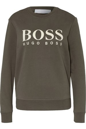 HUGO BOSS Damen Sweatshirts - Sweatshirt Ela gruen