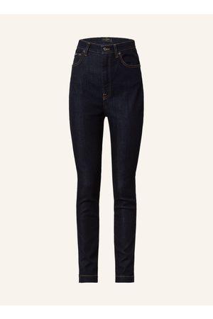 Dolce & Gabbana Damen Skinny - Skinny Jeans blau