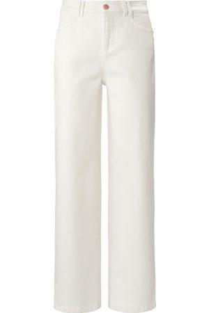DAY.LIKE Damen Jeans - Wide Fit-Jeans weiss