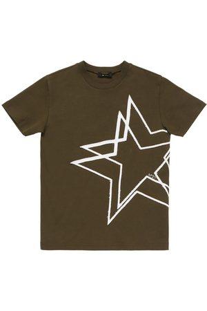 Nº21 Damen Shirts - Bedrucktes T-shirt Aus Baumwolljersey