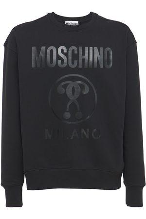 Moschino Sweatshirt Aus Baumwolle Mit Logodruck