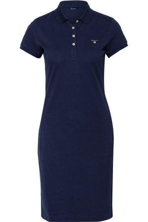 GANT Damen Freizeitkleider - Piqué-Polokleid blau