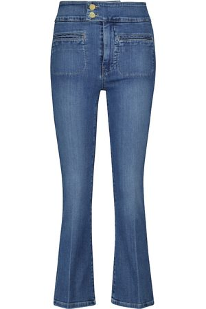 Frame High-Rise Flared Jeans Le Hardy