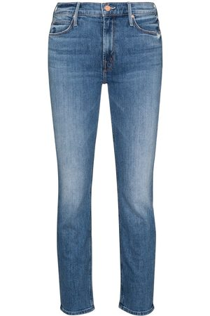 Mother The Dazzler cropped jeans