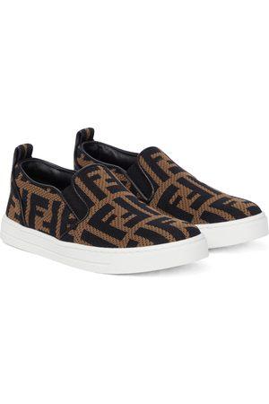 Fendi Sneakers FF aus Jacquard