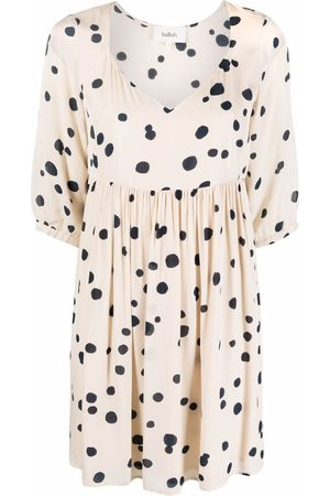 Bash Dalia polka-dot print dress