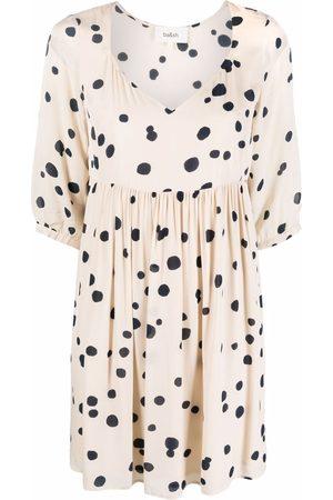 Bash Damen Freizeitkleider - Dalia polka-dot print dress