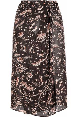 Bash Damen Röcke - Camille knot-detail skirt