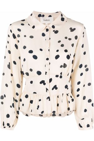 Bash Denzel polka-dot print blouse