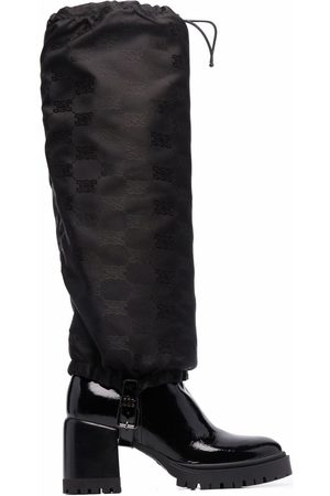 Casadei Evolution two-way leather boots