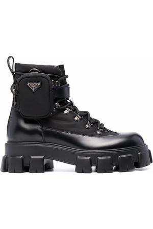 Prada Herren Stiefel - Monolith combat boots