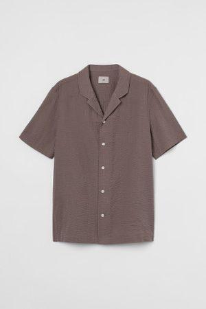 H&M Freizeithemd in Premium Cotton