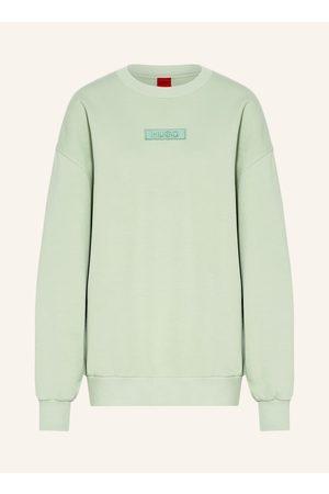 HUGO Damen Sweatshirts - Oversized-Sweatshirt Dashimara gruen