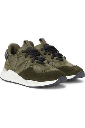 Fendi Sneakers FF aus Veloursleder