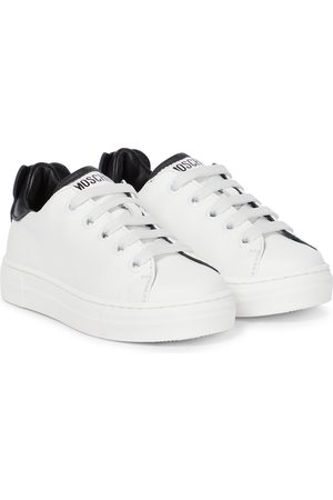 Moschino Mädchen Sneakers - Sneakers aus Leder