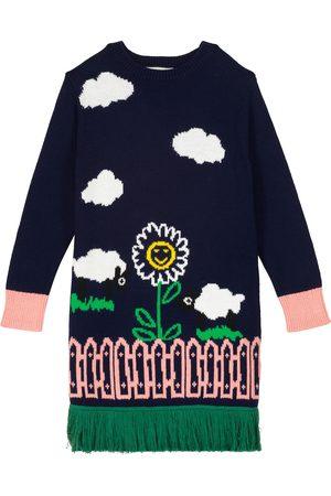 Stella McCartney Kleid aus Baumwolle und Wolle