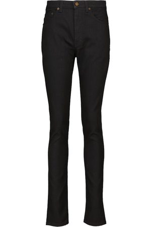 Saint Laurent High-Rise Skinny Jeans