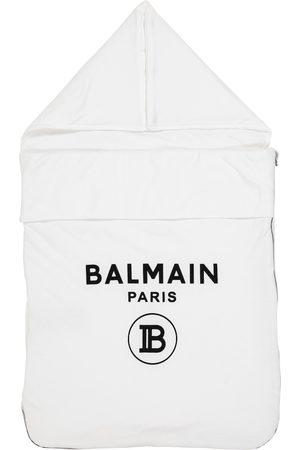 Balmain Baby Schlafsack aus Baumwolle