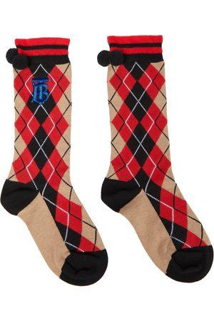 Burberry Socken mit Argyle-Muster