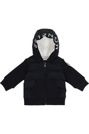 Moncler Baby Jacke mit Baumwolle und Daunen