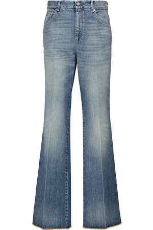 Gucci Low-Rise Flared Jeans