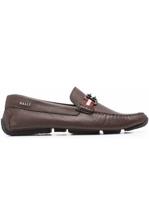 Bally Horsebit-embellished driving loafers