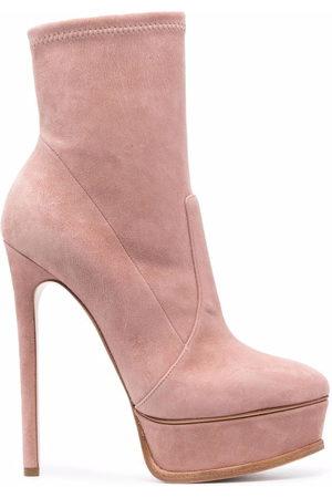 Casadei Damen Stiefeletten - Stiletto-heel platform ankle boots