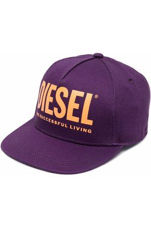 Diesel Logo-print baseball cap