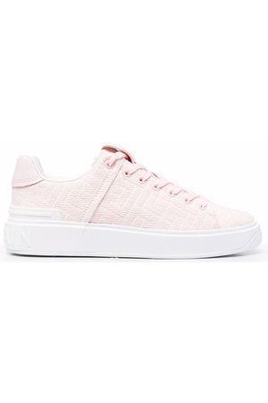 Balmain Damen Sneakers - B-Court jacquard sneakers
