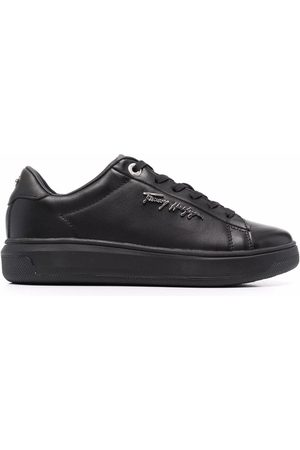 Tommy Hilfiger Damen Sneakers - Signature leather sneakers